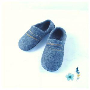 mens-alpaca-felt-slipper-grey